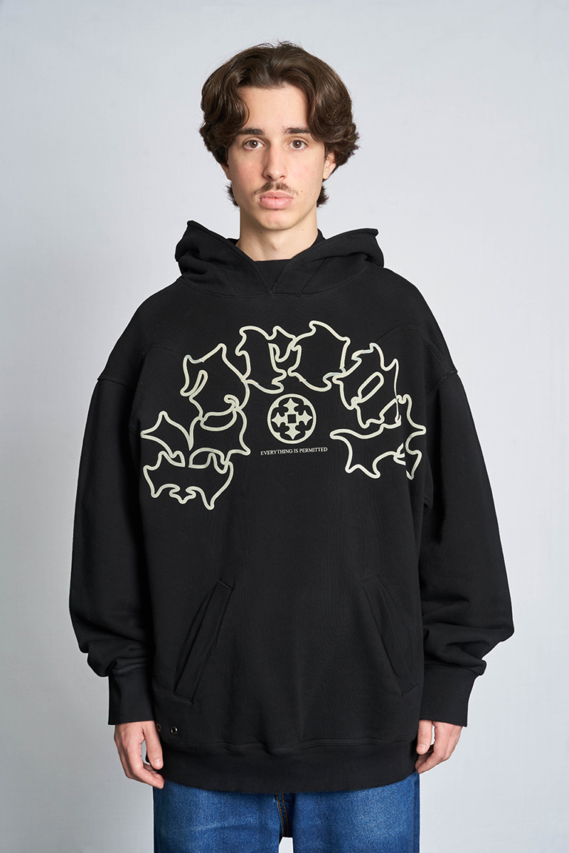 Karont the guide hood front